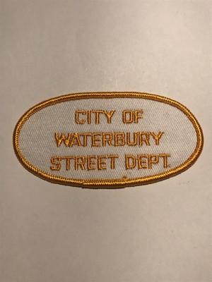 "OLDPatch""CITY OF WATERBURY STREET DEPT"""