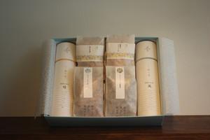 和漢のお茶「晴」他1種・かりんとう4種ギフトセット