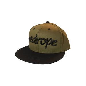 【LOGO SNAPBACK CAP】olive/black