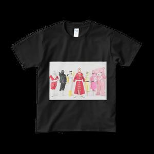 スバルファイブ集合Tシャツ(黒)