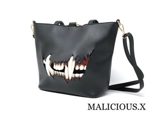 cat fang shoulder & tote bag