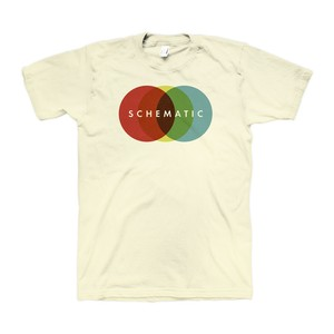 "Schematic - ""Circles"" Tシャツ"