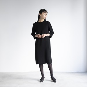 three-quarter sleeve one-piece