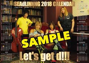 NEW☆2018年SEAdLINNNGポスターカレンダー