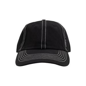 YARDSALE / STITCH CAP -BLACK-
