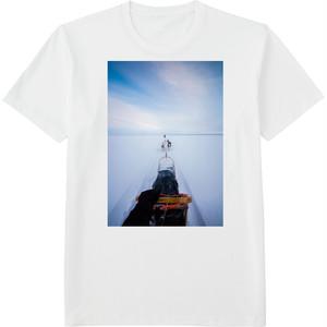 90.Finland100 Tシャツ / 犬ぞり