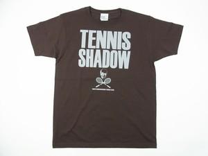TENNIS SHADOW Tee チョコレート TS-104