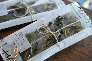 [お在庫2点]Xmas dried & preserved flower pac【green】
