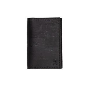 VEGAN BUSINESS CARD HOLDER  Black/ 名刺入れ 黒 コルク製