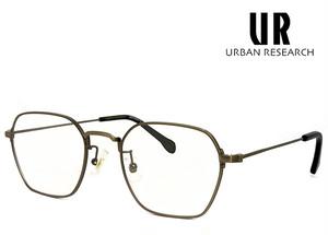 アーバンリサーチ メガネ urf5007-4 URBAN RESEARCH 眼鏡 メンズ アーバン リサーチ メタル ヘキサゴン 六角形