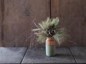 花器 green