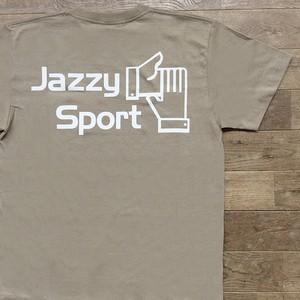 【限定】JSロゴ Tシャツ/サンドカーキ