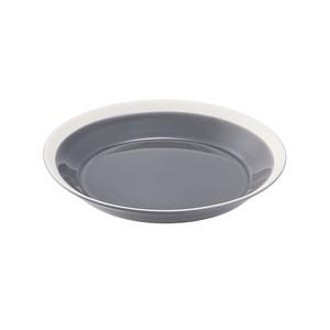 yumiko iihoshi porcelain(ユミコイイホシポーセリン)×木村硝子店 dishes 180 plate (fog gray)  プレート 皿 18cm 日本製 255152
