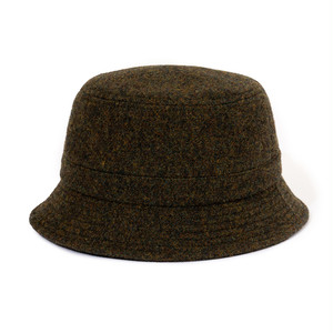 "Just Right ""Wool Twill Bucket Hat"" Olive"