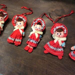 デッドストックの文化人形(小)