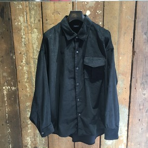 【CHRISTIAN DADA】Patch-pocket Narrow Wale Button Shirt