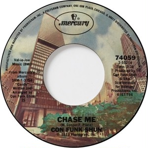Con Funk Shun – Chase Me / I Think I Found The Answer