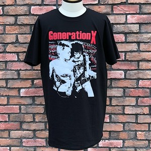 Generation X Black T-Shirts Large