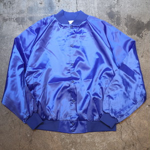 Dead Stock AUBURN nylon stadium jumper blue