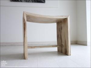 スツールWW 椅子 イス ベンチ チーク家具 チェアー チェア 木製 天然木 シンプル 新品 ナチュラル チーク材 銘木家具 新品 送料無料