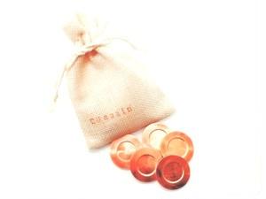 純銅抗菌チップ(5個巾着袋入り)日本製