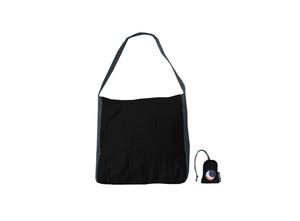 エコマーケットバッグ【カラー】ブラック×ダークグレー/チケットトゥーザムーン