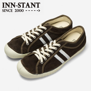#306 SUEDE SHOES brown/natural (natural sole)  INN-STANT インスタント 【消費税込・送料無料】