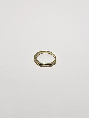 random cut ring gold(再入荷)