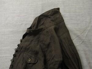 frenchvictorians belgium-linen pullover / charcoal