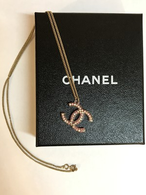 CHANEL☆クリアネックレス