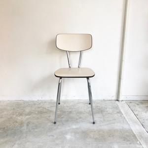 """Brabantia"" Vintage Kitchen Chair / IVORY  60's オランダ"