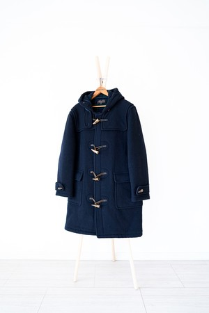 "【1980-90s】""Baskin Club"" Wool Duffle Coat / v406"