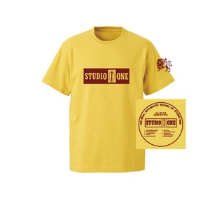 【Or Glory】 STUDIO ONE ジャマイカ SKA Tシャツ 〈Yellow〉