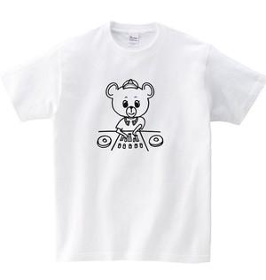 シロクマDJ Tシャツ (ホワイト)