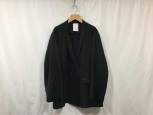 """WHOWHAT""""DOUBLE&DOUBLE WIDE JACKET BLACK"""""""