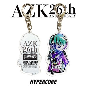 "A-394N 澁谷梓希×HYPER COREコラボレーション""GAME CENTER""アクリルキーチャーム"