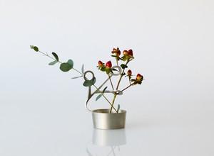 LASSO :花器(花瓶・錫・曲がる・延命効果・結婚祝い・錫婚式・結婚10周年)
