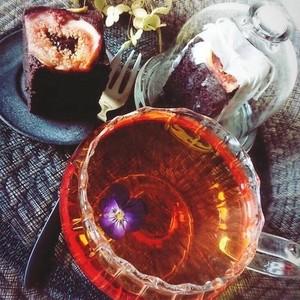 【87farm】A Happy Flower TEA 幸せの花茶 食べられるお花の紅茶(トレニア)