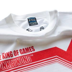 ドンキーコング ラインTシャツ/ THE KING OF GAMES