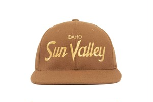 "HOOD®︎ ""Sun Valley"" CAP BROWN × GOLD"