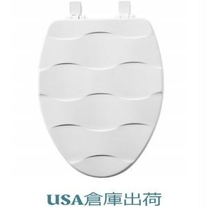 Basket Weave   デザイン木製便座 大型サイズ