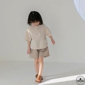 «予約» La camel popo pants 2color リネンショートパンツ