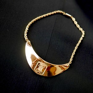 CELINE Plate-Choker Necklace