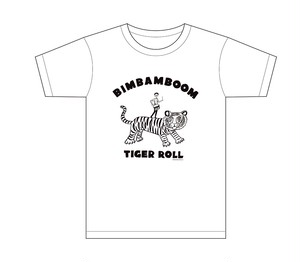 TIGER  ROLL Tシャツ WHITE