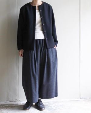 【atelier naruse】ラムウールワイドパンツ lamb wool wide pants / アトリエナルセ