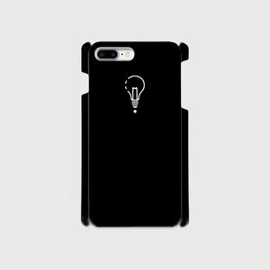 【8Plus,7Plus】ロゴiPhoneケース黒