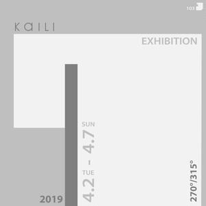 """103 """"KaILI 2019 270°/315°"""" 402 EXHIBITION"""
