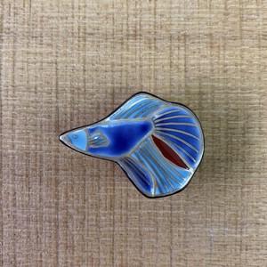 熱帯魚(帯留・ブローチ)