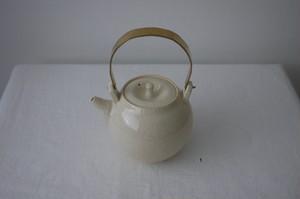 石黒剛一郎 土瓶(白瓷)
