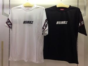 ASIANZエイジアンズ 289953バックロゴテープTシャツ